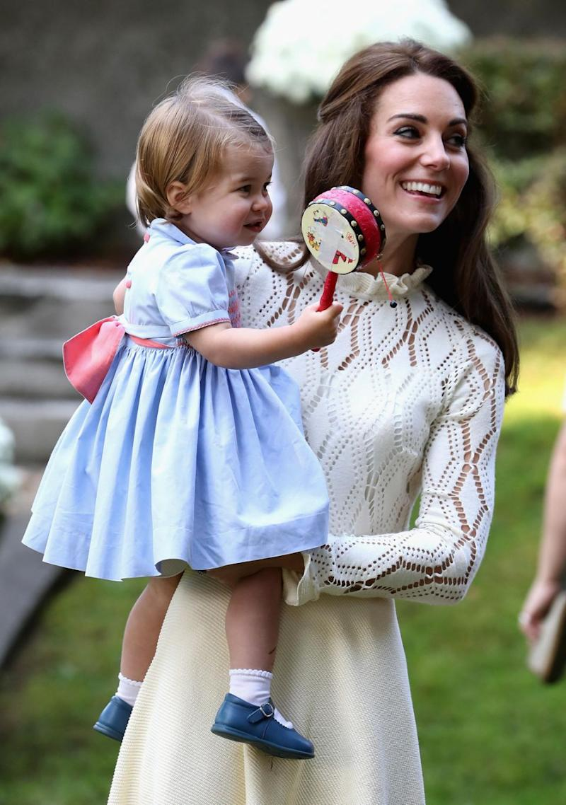 Princess Charlotte's birth heralded a new era for the females in the royal family. Photo: Getty