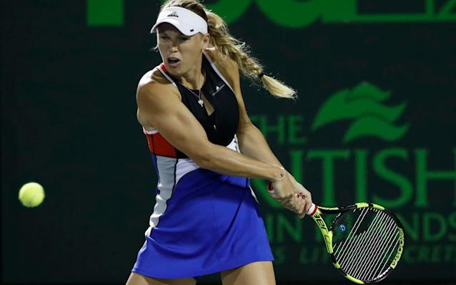 """The world No 2 Caroline Wozniacki says she is considering whether to boycott the Miami Open – one of the four biggest women's tournaments outside the majors – after the vile abuse that was directed at her family during her first-round defeat there last month. Speaking to reporters in Monte Carlo, Wozniacki revealed that she had not slept properly for a week after the match against Puerto Rica's Monica Puig, during which a boozy and partisan crowd had aimed threats and foul language at her parents, her boyfriend David Lee, and even Lee's young niece and nephew. """"I slept horrible for probably four or five days after that,"""" Wozniacki said. """"I wasn't at ease. I really felt awful. There was a bad feeling in my stomach. David was there too and he even was like, 'This is bad, this is not the way. This is not why we're playing.' """"Tennis is known to be a great sport, a sport for families, a sport for all ages, a sport with great fans and great traditions. But the experience that I had in Miami was awful and hopefully something we'll never experience again. I've played [Jelena] Dokic in Australia when she was making a run and she beat me, but the crowd was still amazing. They were cheering for her, obviously, but it's still fun, it's respectful and they're great. """"That's the way it's supposed to be. But to have David's niece and nephew come over crying after the match – and having to explain to them because it's not normal and this is not the way that people should behave – it's not a good feeling. I just have to make a decision next year on whether I feel like I want to go back or not. I haven't made that decision yet."""" Wozniacki hopes her family never experience anything like the abuse they suffered in Miami again Credit: Getty Images Wozniacki's disappointment was only accentuated by the offhand response of the Miami Open's new director James Blake. After Wozniacki posted a statement on social media detailing the abuse and calling on the tournament to """"take this seriously"""""""