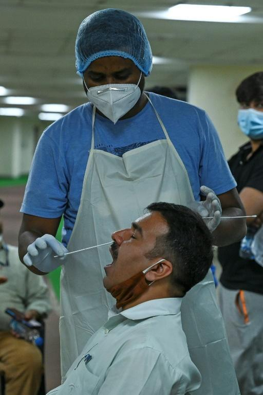 Experts say complacency is fuelling a coronavirus surge in India -- in New Delhi, nearly 24,000 new cases were reported on April 19, 2021