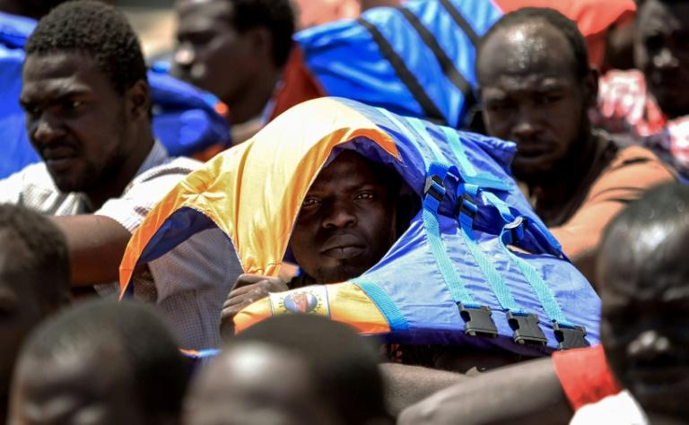 Macron will call for greater efforts to combat the trafficking of migrants up through Africa to Libya, where they pile into rickety boats that often sink en route to Europe