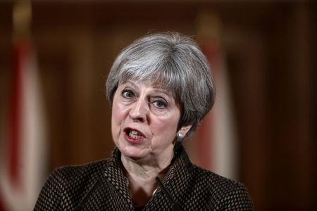 Theresa May tells British Parliament that Syria strikes were 'legal and moral'