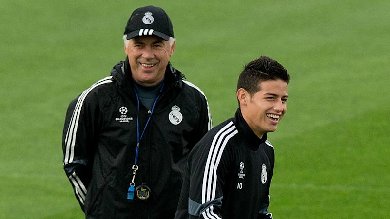 Ancelotti in no rush for James