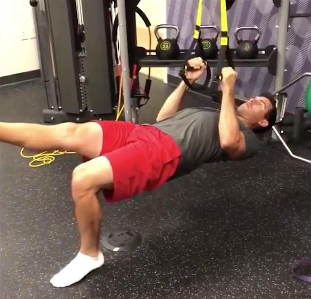 "<div class=""caption""> Horschel spends part of nearly every day working with his physio to get his body ready to play. </div> <cite class=""credit"">Twitter.com/BillyHo_Golf</cite>"