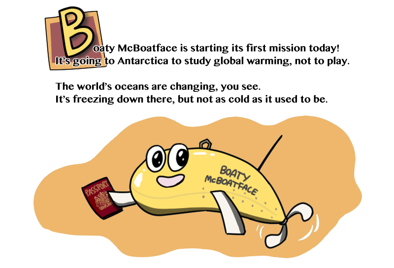 Boaty McBoatface's heroic journey to Antarctica begins today