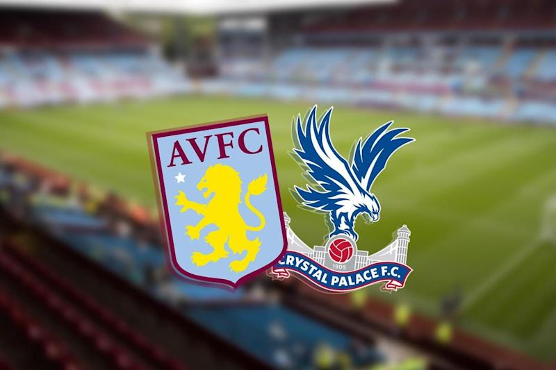 Aston Villa face a crucial fixture against Crystal Palace as they look to avoid the drop