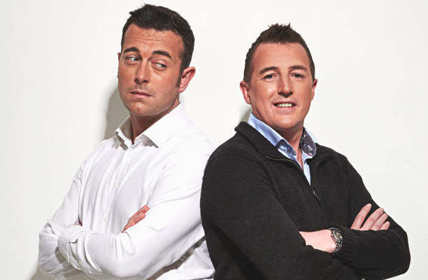 Advice: Richard Taylor (right) will be on hand to advise customers about how to keep their property safe (Channel 5)