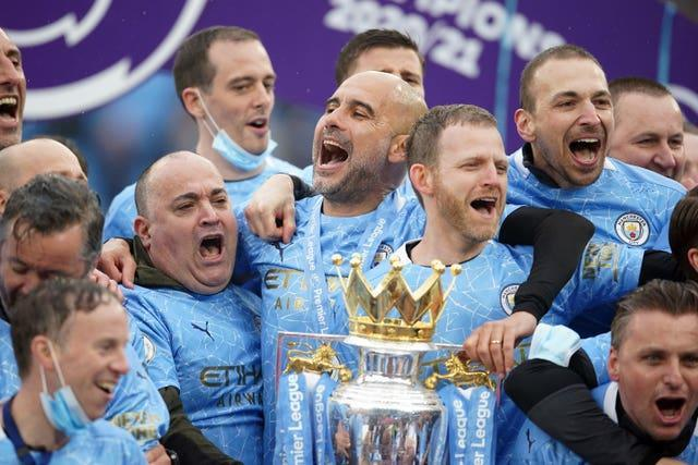 Pep Guardiola has helped Manchester City win another Premier League title