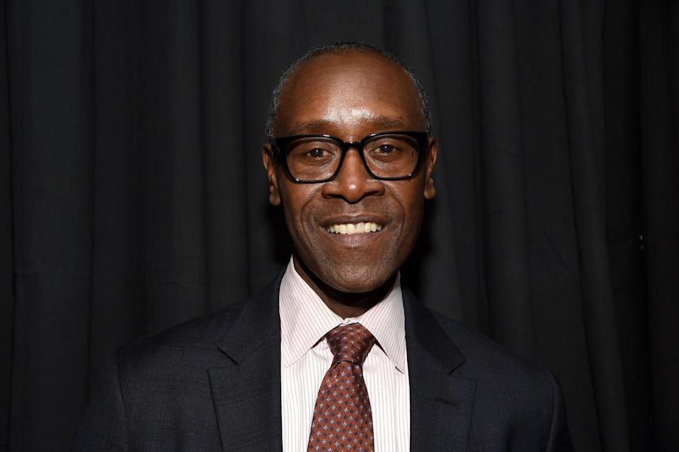 <p>Cheadle has been a familiar face in movies for decades. He shows up in <em>Boogie Nights</em> (1997) and the <em>Ironman </em>and <em>Oceans'</em> movies (to name a few). In Showtime's <em>House of Lies</em> (2012-2016), he made his first big TV splash as management consultant Marty Kaan. </p>