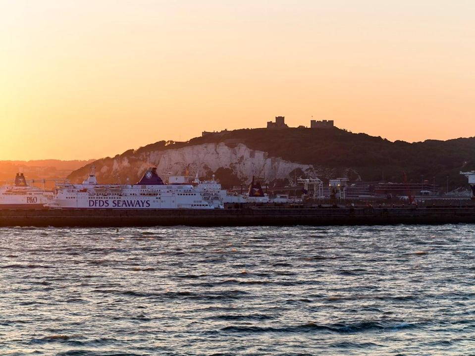 The first transport abroad will be the DFDS ferry (Getty Images)