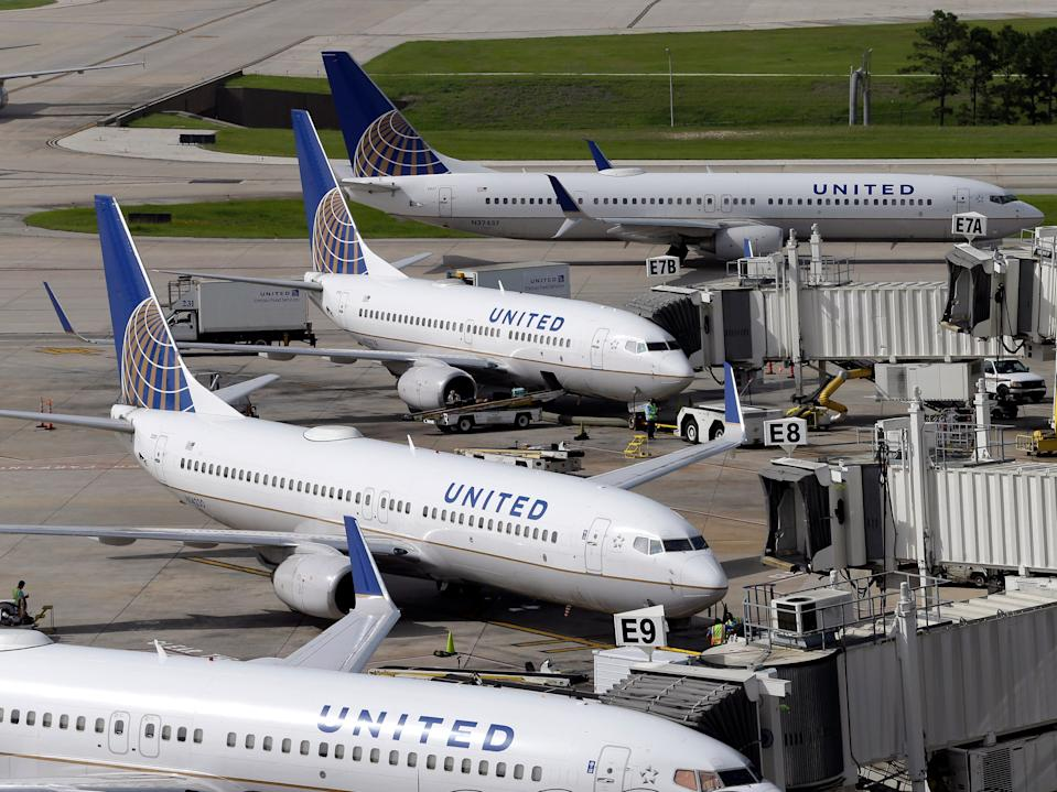 United Airlines Houston Boeing 737