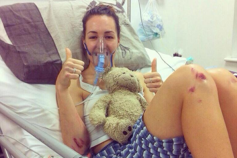 Olympic cyclist Dani King says body 'will never fully recover' from crash three years ago