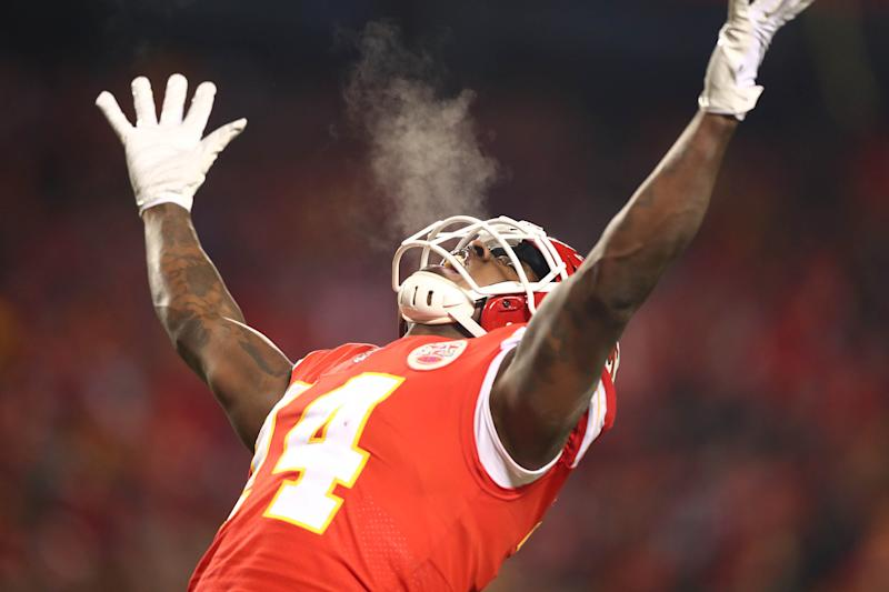 Kansas City Chiefs wide receiver Sammy Watkins