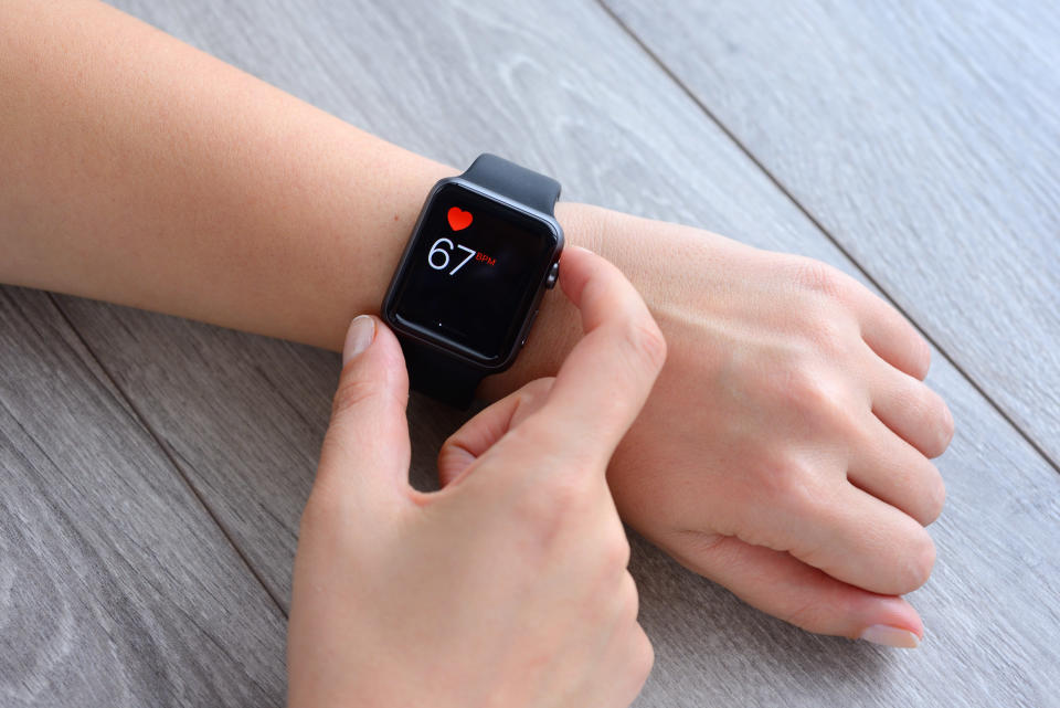Drs are warning health wearables could put an extra strain on the NHS [Photo: Getty]