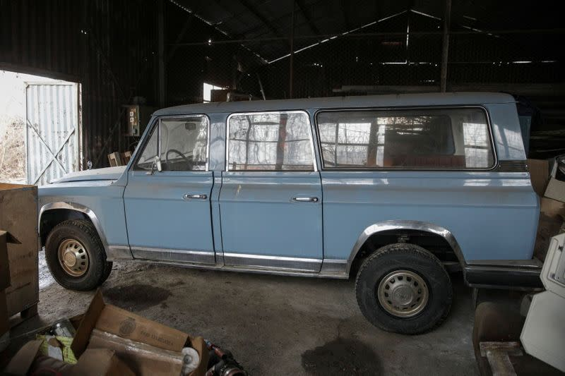 Romania auctions dictator Ceausescu's hunting car for $44,000