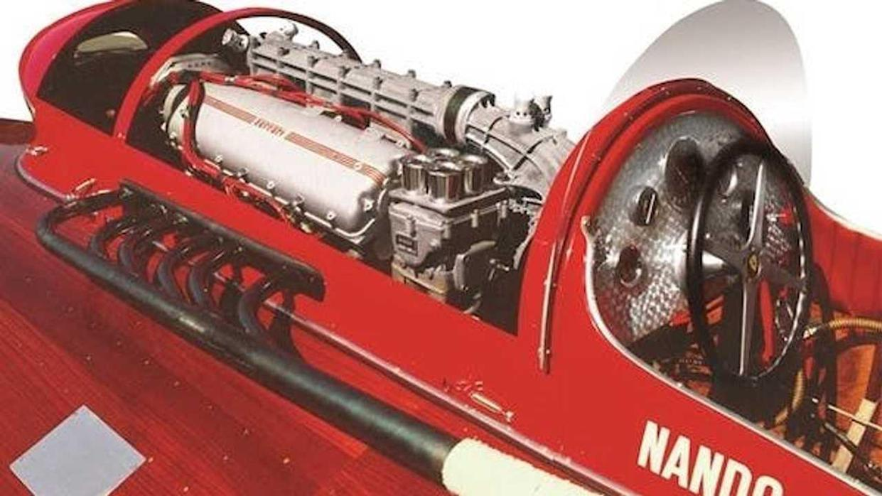 Historic Ferrari Powered Racing Boat Is For Sale