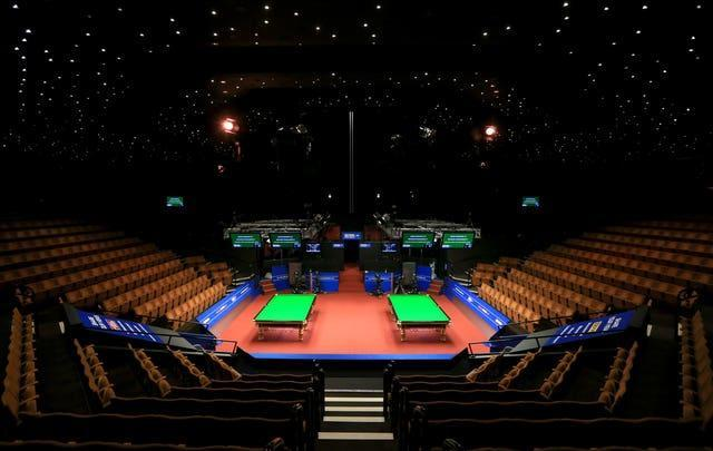 A general view of the tables at the Crucible