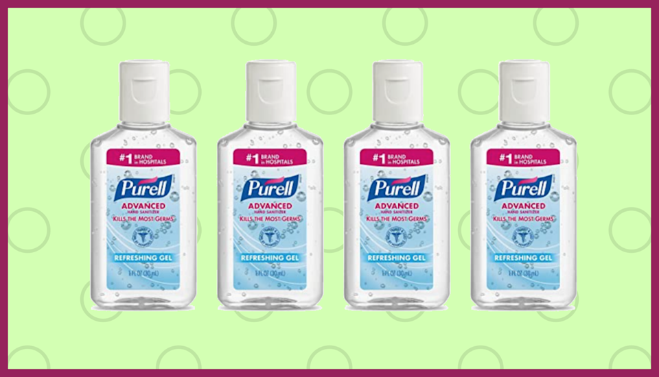 Shout it from the rooftops: Purell is back in stock! (Photo: Amazon)
