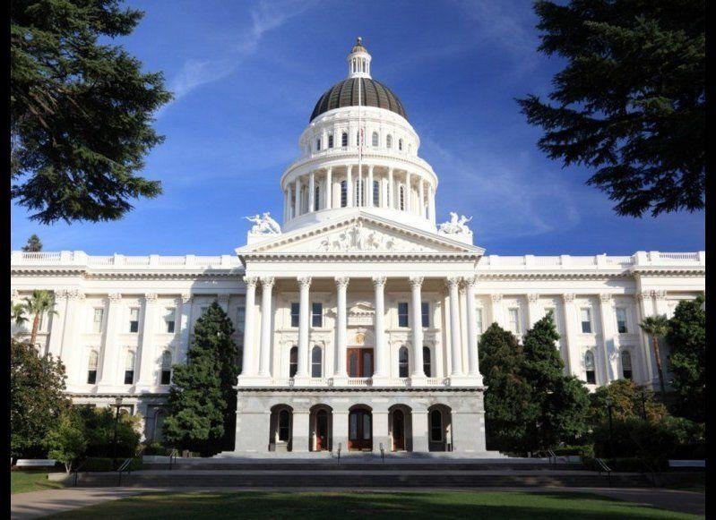 <strong>CALIFORNIA STATE CAPITOL AND CAPITOL MUSEUM</strong> Sacramento, California <strong>Year completed: </strong>1874 <strong>Architectural style:</strong> Neo-Classical <strong>FYI:</strong> Look for Minerva. You'll find the Roman goddess pictured in the Great Seal, on tile groupings on the floor, peering down from arches leading to the second-floor rotunda walkway, and the pediment in the building's exterior. According to myth, Minerva was born fully grown, the way California became a state without first being a territory. <strong>Visit:</strong> Public tours leave on the hour daily, from 9 a.m. to 4 p.m.