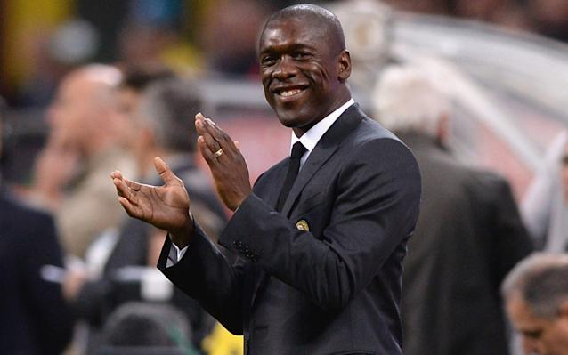 Clarence Seedorf interviewed for vacant Oldham Athletic manager's job