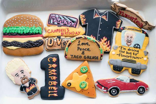 PHOTO: Nataly Stein threw a Guy Fieri-themed 1st birthday party for her son in California. (Sara Santana Photography)
