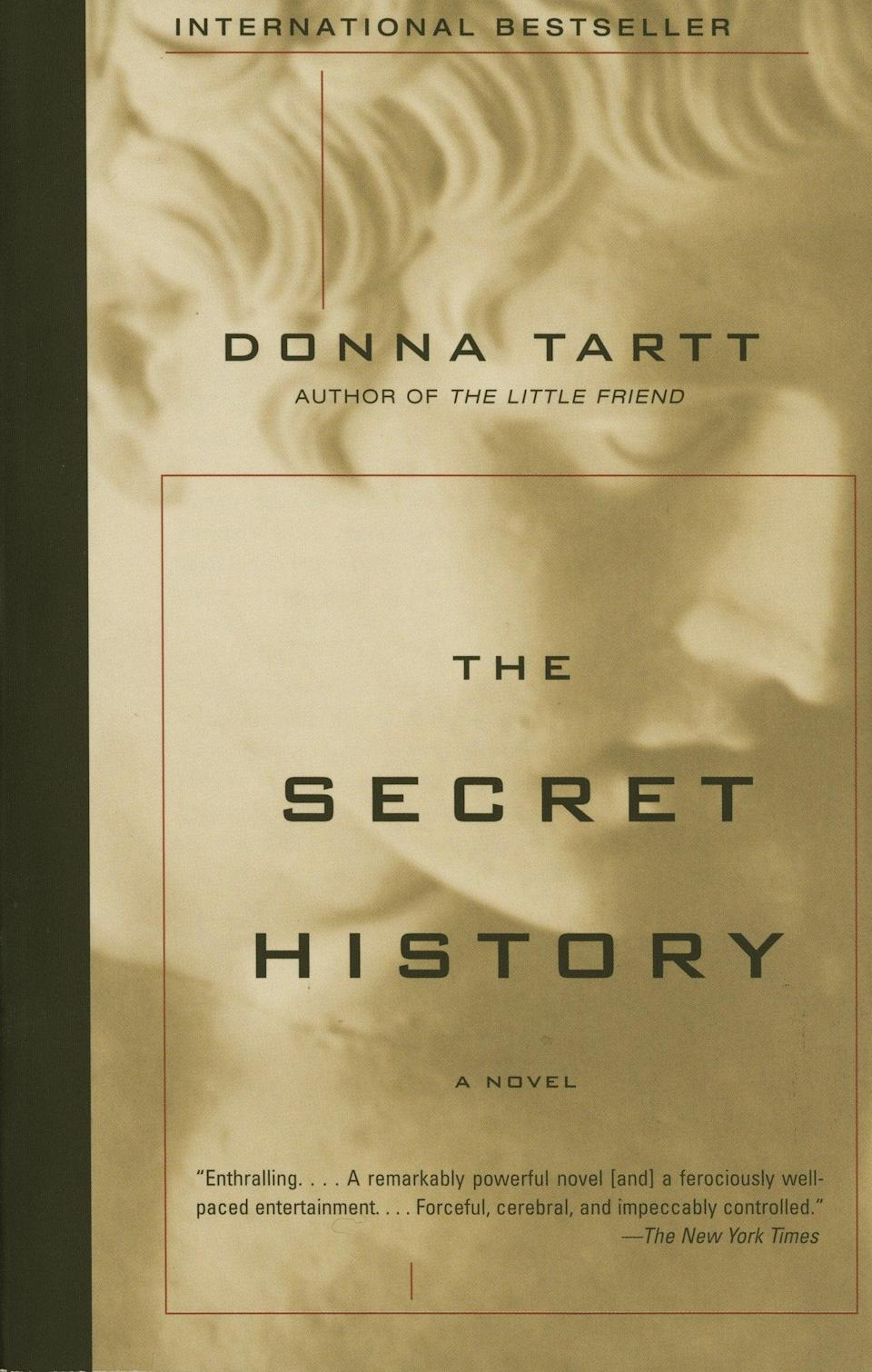 <p>Donna Tartt's <span><b>The Secret History</b></span> illustrates the story of misfit students attending an elite New England college who challenge the boundaries of their everyday norms alongside the influence of their professor. This ever-evolving dark read is perfect for the chilling atmosphere of fall!</p>