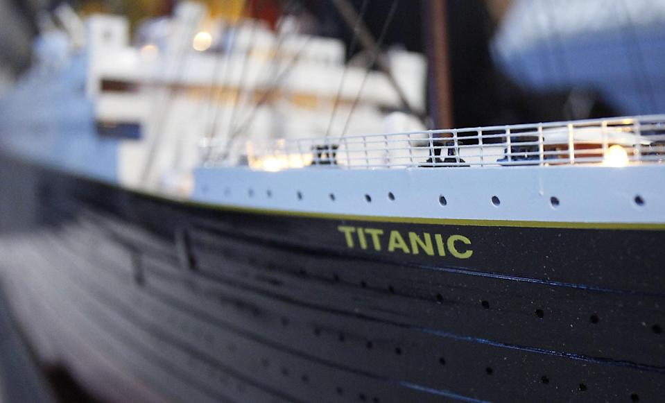 The Titanic II will trace the original's planned route from England to New York (Picture Blue Star Line)