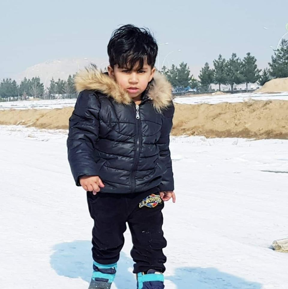 Five-year-old Mohammed Munib Majeedi tragically fell out of a ninth-story hotel window.  Source: Facebook