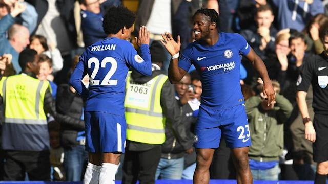 Michy Batshuayi was Chelsea's saviour against Watford and was relieved to make a telling impact after struggling for form this season.