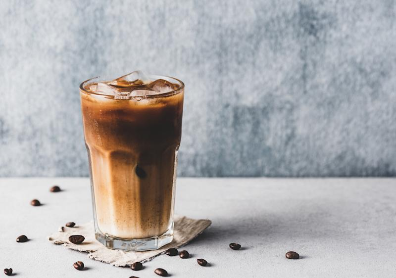 People are loving this TikTok hack for making the perfect at-home iced coffee. (Getty Images)