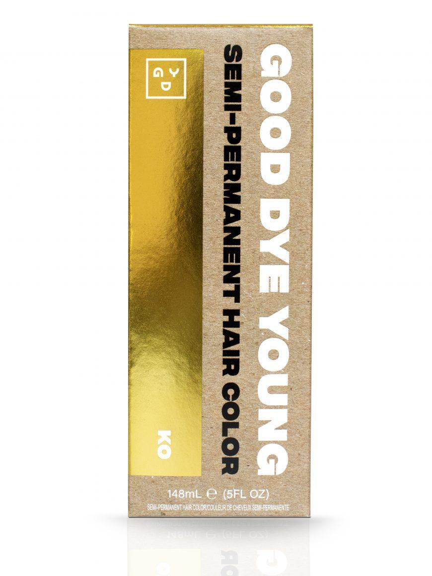 Good Dye Young Semi-Permanent Hair Color in Ko gold