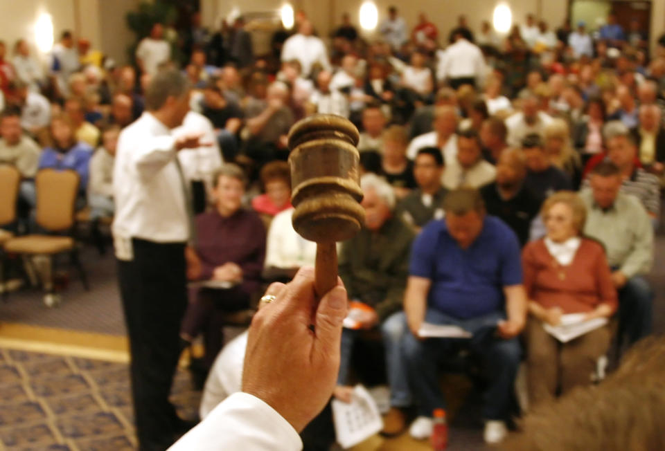Property house auction