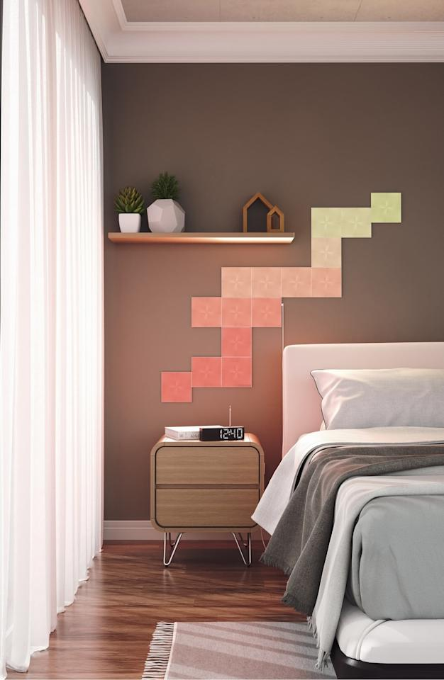 "<p>This <a href=""https://www.popsugar.com/buy/Nanoleaf-Light-Panels-Expansion-Pack-499120?p_name=Nanoleaf%20Light%20Panels%20Expansion%20Pack&retailer=shop.nordstrom.com&pid=499120&price=60&evar1=geek%3Aus&evar9=26294675&evar98=https%3A%2F%2Fwww.popsugar.com%2Fphoto-gallery%2F26294675%2Fimage%2F46728990%2FNanoleaf-Light-Panels-Expansion-Pack&list1=shopping%2Cgadgets%2Choliday%2Cgift%20guide%2Choliday%20living%2Ctech%20gifts%2Cgifts%20under%20%24100&prop13=api&pdata=1"" rel=""nofollow"" data-shoppable-link=""1"" target=""_blank"" class=""ga-track"" data-ga-category=""Related"" data-ga-label=""https://shop.nordstrom.com/s/nanoleaf-light-panels-expansion-pack/5324730?origin=category-personalizedsort&amp;breadcrumb=Home%2FHome%20%26%20Gifts%2FHome%2FElectronics%20%26%20Tech%20Accessories&amp;color=multi"" data-ga-action=""In-Line Links"">Nanoleaf Light Panels Expansion Pack</a> ($60) is a such a fun gift.</p>"