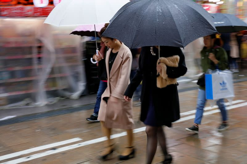 Japan January household spending seen falling for fourth straight month - Reuters poll
