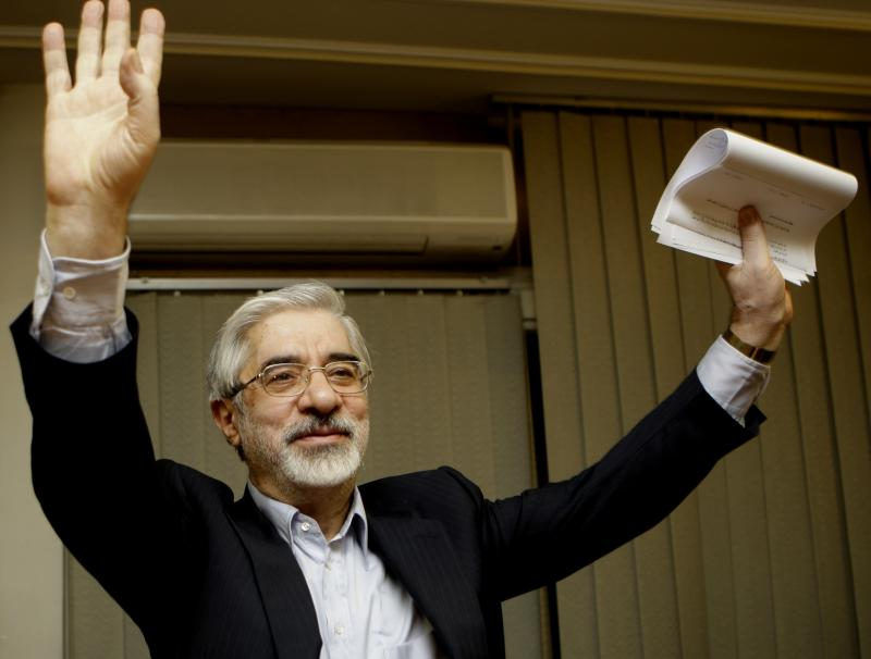 Mideast Iran Election Mousavi