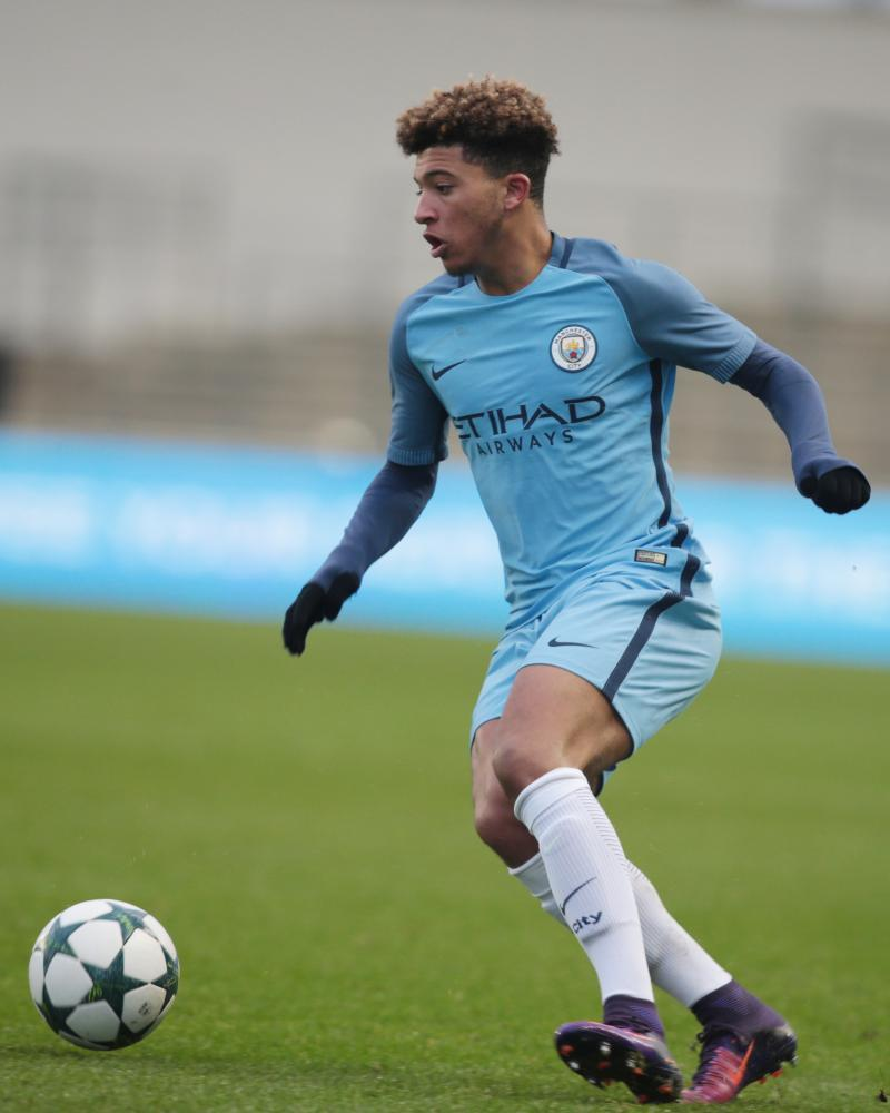 Jadon Sancho opted to join Borussia Dortmund from Manchester City this summer.