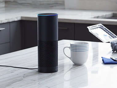 The Amazon Echo. Image: Amazon