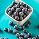 """<p>Another food with cholesterol-fighting fiber are wild blueberries. """"Just one cup of frozen wild blueberries offers around 6 grams of fiber, which is about a quarter of your daily need,"""" Gorin says. """"They offer twice the antioxidants of regular blueberries — and eating a diet rich in antioxidants is linked with a lower risk of heart disease.""""</p>"""