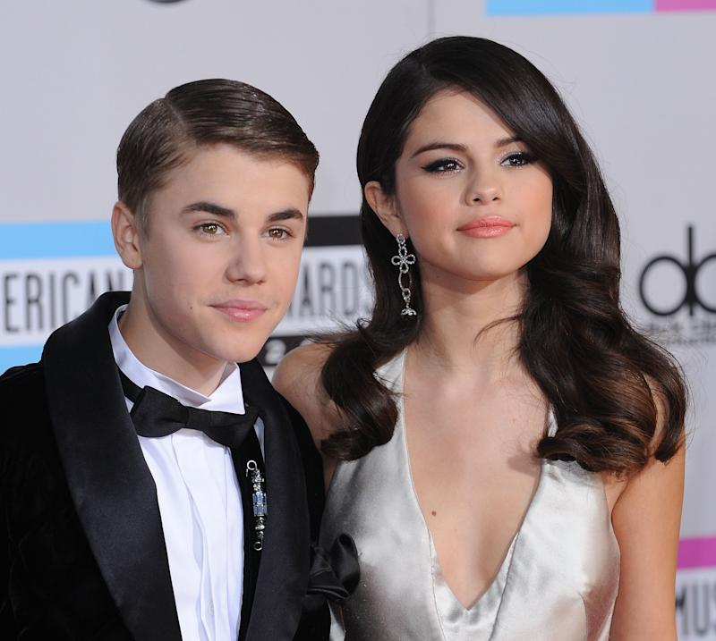 Justin claims he was with then-girlfriend Selena Gomez at the time. Photo: Getty Images