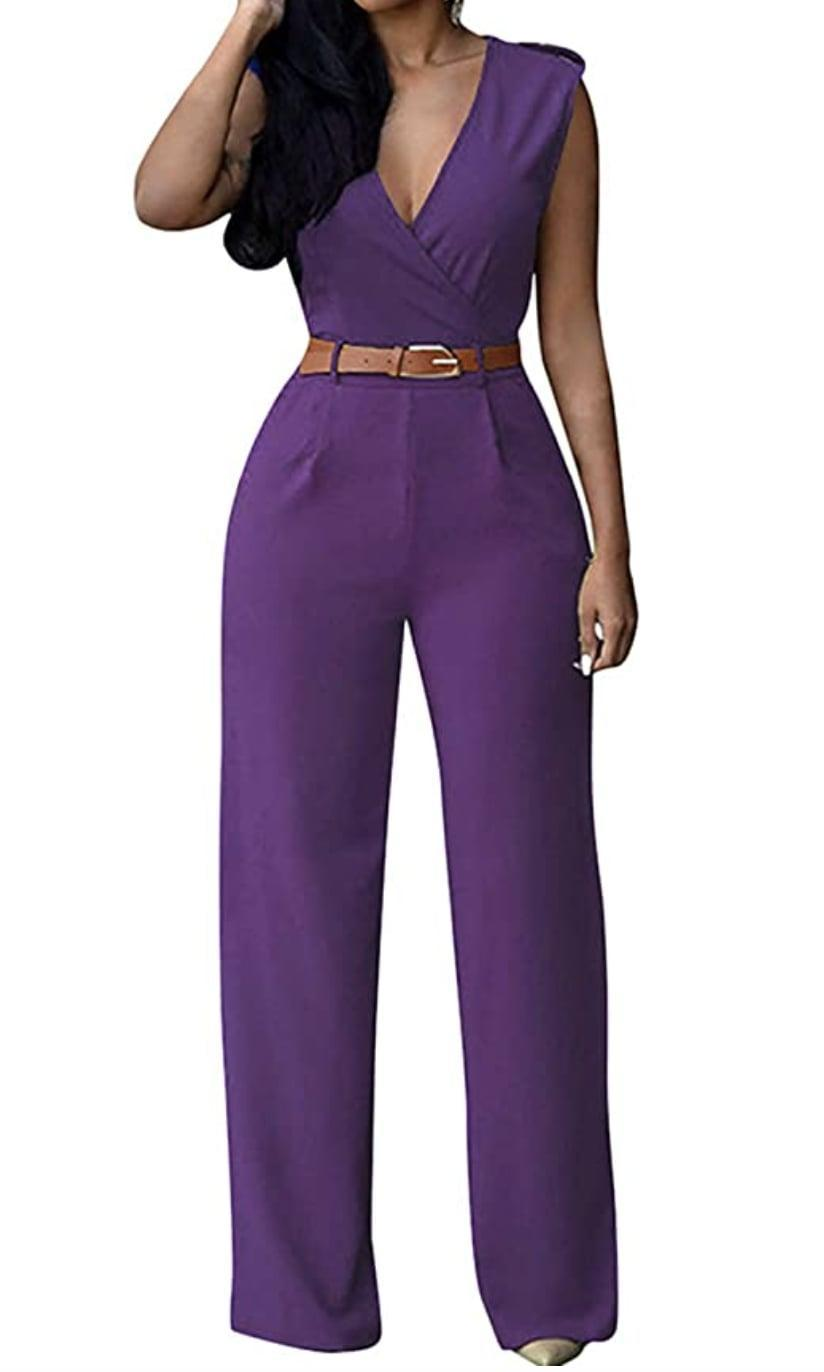 <p>This is the kind of <span>Pink Queen Jumpsuit</span> ($30-$44) that'll instantly make you feel confident when you throw it on. It's professional enough for the office, but it will also stylishly transition into night activities (just bring on the high heels).</p>