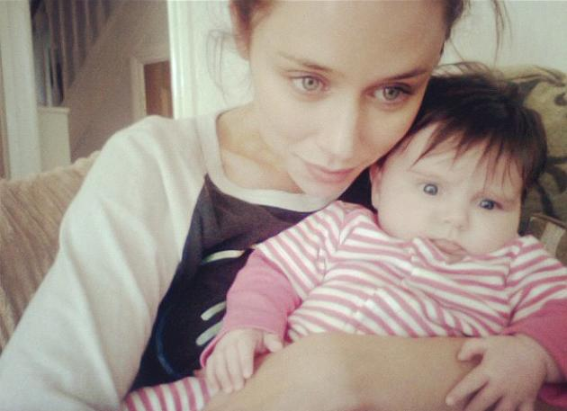 Celebrity photos: The Saturdays singer Una Healy has melted our hearts with a series of Twitter photos of her daughter, Aoife Belle. However, this latest snap of the pair together is perhaps the cutest yet – even if Aoife hasn't quite mastered her mum's pout yet.