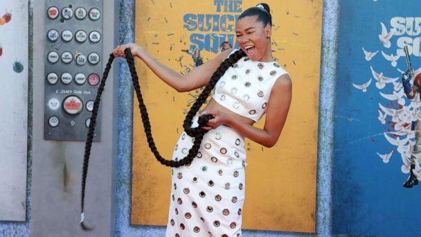 PHOTO: Storm Reid attends the Warner Bros. premiere of 'The Suicide Squad' at Regency Village Theatre, Aug. 2, 2021 in Los Angeles. (Matt Winkelmeyer/Getty Images)