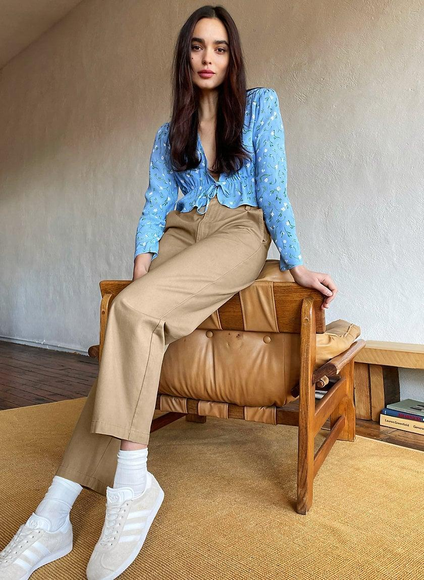 <p>They're not quite jeans or trousers, but the <span>Sunday Best Jaden Pants</span> ($98) are perfect pair of chinos. The lightweight design is great for hot weather, and easy to mix and match.</p>