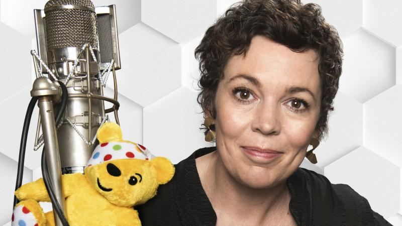 Olivia Colman reaches number one with Children In Need album