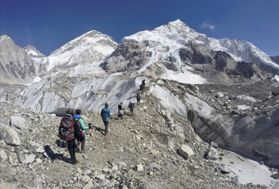 Soon the Himalayas will be bare rock (AP)
