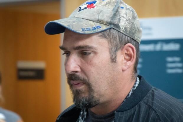 Shawn Wade Hynes of Trenton, N.S., was found guilty of assault with a weapon and criminal negligence causing bodily harm.  (Robert Short/CBC - image credit)