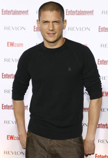 """FILE - This Sept. 17, 2007 file photo shows actor Wentworth Miller at Entertainment Weekly's 5th Annual Pre-Emmy party in Los Angeles. Miller is declining an invitation to be an honored guest at a film festival in Russia because he is gay. The 41-year-old actor said in a letter Wednesday to organizers of the St. Petersburg International Film Festival that he is """"deeply troubled"""" by the attitudes toward and treatment of gay people by the Russian government, which passed a law in June against representations of """"nontraditional sexual relations."""" (AP Photo/Matt Sayles, File)"""