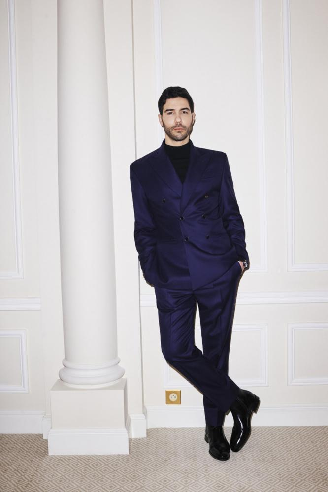 Tahar Rahim at the Golden Globes.