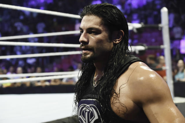 Roman Reigns is fans' best hope at solving their biggest gripe of 2018. (Getty Images)