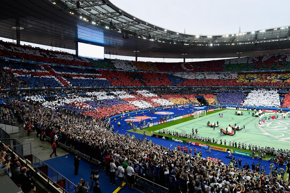 The Euro 2016 opening ceremony in Paris (Getty Images)
