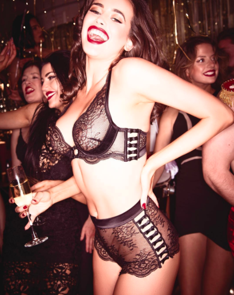 The campaign has been slammed by some as 'offensive'. Photo: Honey Birdette